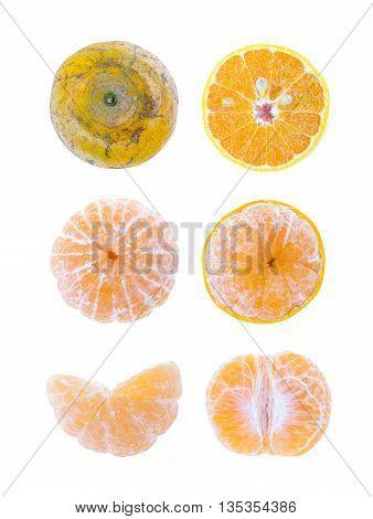 Tangerine Mandarine Orange