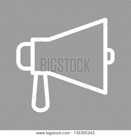 Megaphone, speaker, announcement icon vector image.Can also be used for elections. Suitable for web apps, mobile apps and print media.