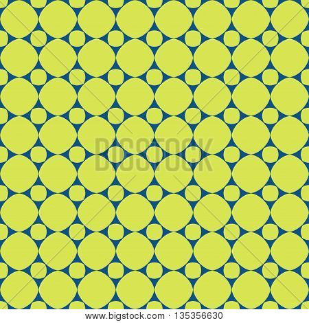 Polka dot geometric seamless pattern. Fashion graphic background design. Modern stylish abstract texture. Colorful template for prints textiles wrapping wallpaper website etc. VECTOR illustration