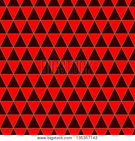 Triangle geometric seamless pattern. Fashion graphic background design. Modern stylish abstract colorful texture. Template for prints textiles wrapping wallpaper website. Stock VECTOR ilustration