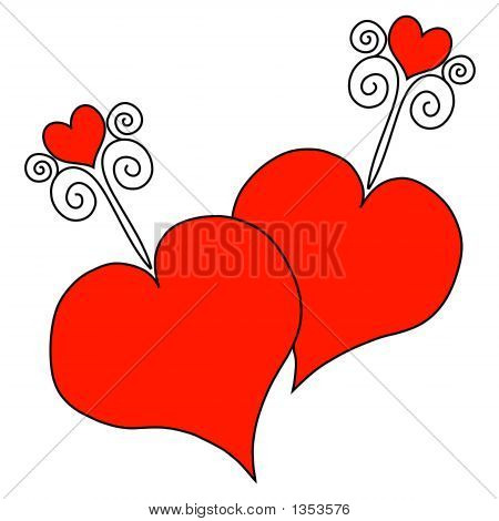 Hearts Art 2