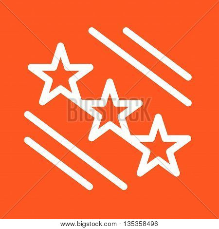 Star, stars, award icon vector image. Can also be used for elections. Suitable for use on web apps, mobile apps and print media.