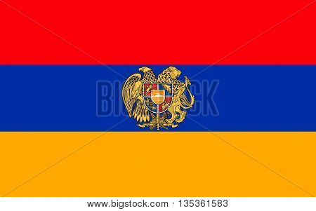 Flag of Armenia officially the Republic of Armenia is a sovereign state in the South Caucasus region of Eurasia. Located in Western Asia.