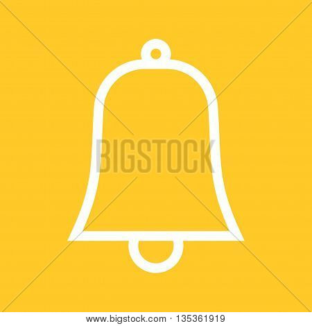 Bells, decor, ribbon icon vector image. Can also be used for celebrations. Suitable for use on web apps, mobile apps and print media.