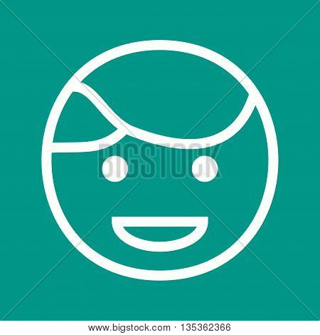 Man, happy, handshake icon vector image. Can also be used for celebrations. Suitable for web apps, mobile apps and print media.
