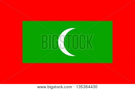 Flag of Maldives officially the Republic of Maldives is an island country and archipelago in the Indian Ocean.