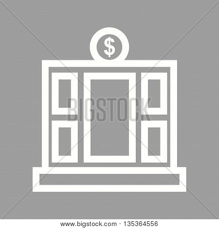 Office, financial, services icon vector image. Can also be used for finances trade. Suitable for web apps, mobile apps and print media.