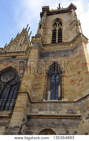 Cathedral Of Colmar, France