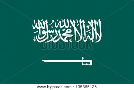 Flag of Saudi Arabia is an Arab state in Western Asia constituting the bulk of the Arabian Peninsula.