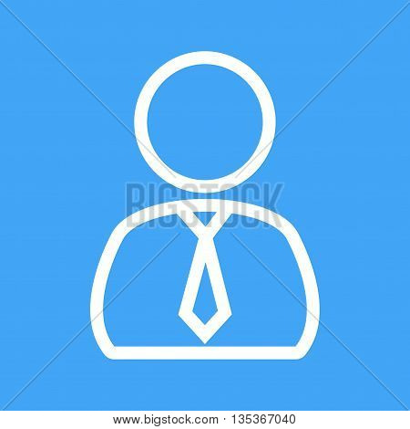 Male, manager, finance icon vector image. Can also be used for finances trade. Suitable for use on web apps, mobile apps and print media.