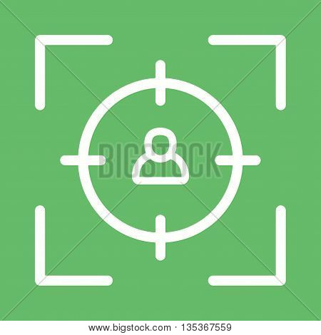 Target, job, marketing icon vector image. Can also be used for employment. Suitable for use on web apps, mobile apps and print media.