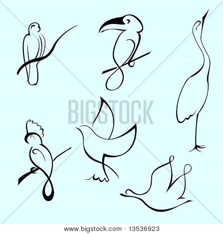 Bird Design Set