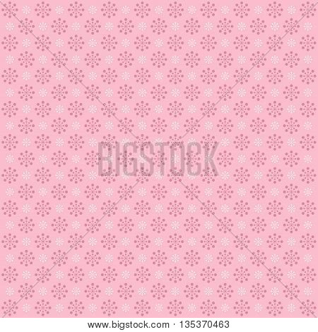 Abstract colorful background with circles. Pink image.