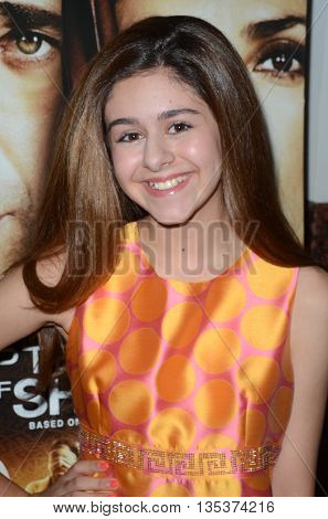LOS ANGELES - JUN 21:  Ariana Molkara at the Septembers of Shiraz Premiere at the Museum of Tolerance on June 21, 2016 in Los Angeles, CA