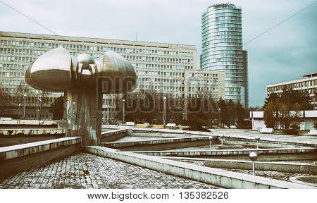 Empty square - Namestie Slobody - Bratislava Slovakia