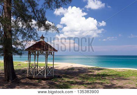 Pavilion On The Beach