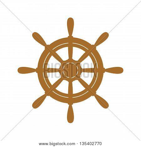Vector Ship Wheel.