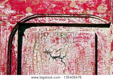 Nail Dirty Stripped Paint  The   Door And Rusty