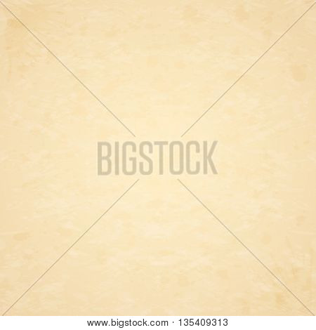 Blank old sheet of paper, texture of grunge paper background, illustration.