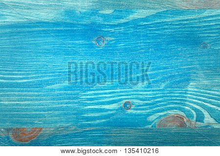 Closeup shot of blue wood plank texture abstract textured background