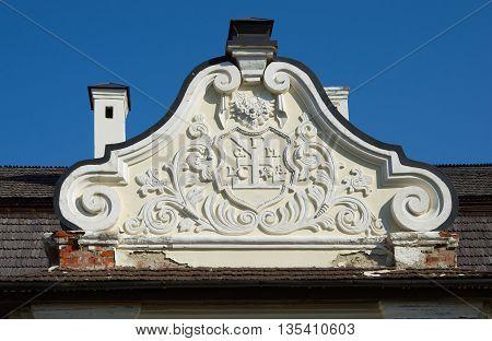 Hetman House In Citadel Fortress, Baturin, Ukraine, Fragment