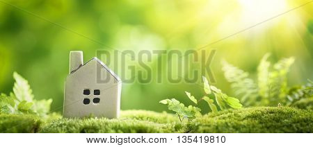 Eco Village, abstract environmental backgrounds
