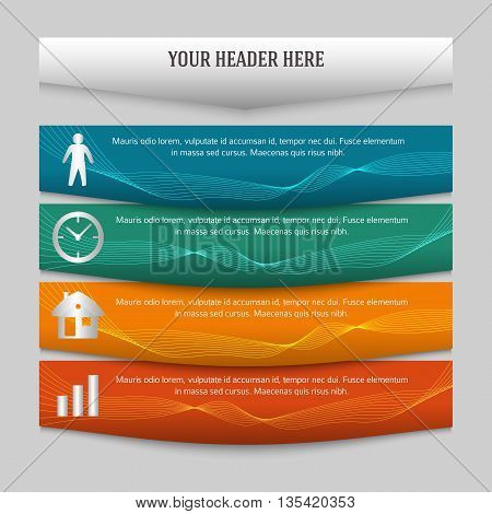 Design Element Page Booklet Style Infographics04