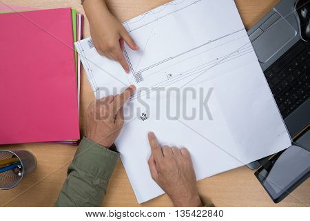 Closeup Of A Woman Buying New House