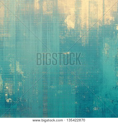 Closeup vintage texture, weathered grunge background. With different color patterns: yellow (beige); blue; gray; cyan