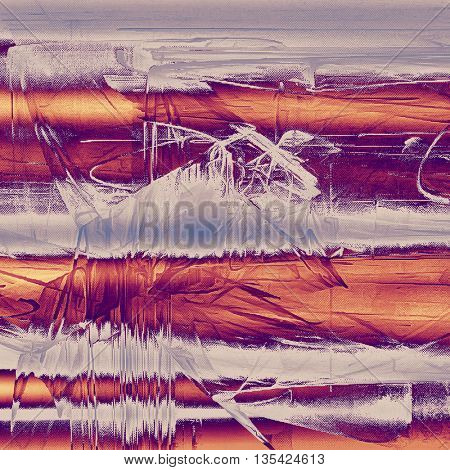 Vintage texture or antique background with grunge decorative elements and different color patterns: yellow (beige); brown; gray; red (orange); purple (violet); pink