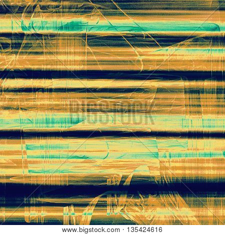 Elegant vintage background, antique texture. Designed grunge template with different color patterns: yellow (beige); brown; green; blue; cyan