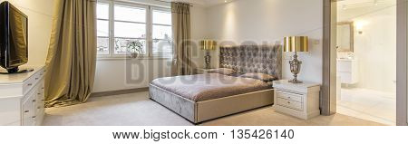 Stylish Master Bedroom Suite