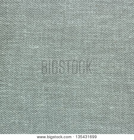 Closeup detail of gray fabric texture background