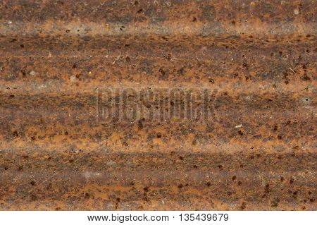 image of Background texture of Rusted steel
