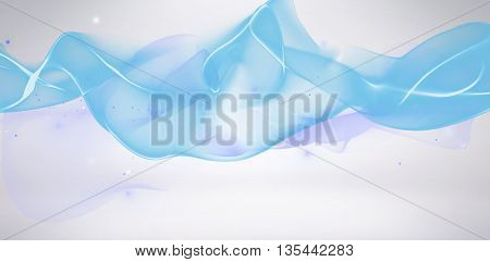 Composite background of Blue digital wave