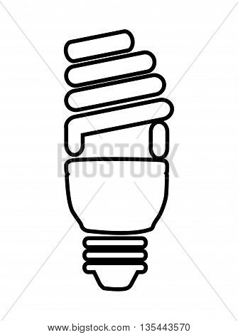 saver bulb isolated icon design, vector illustration  graphic