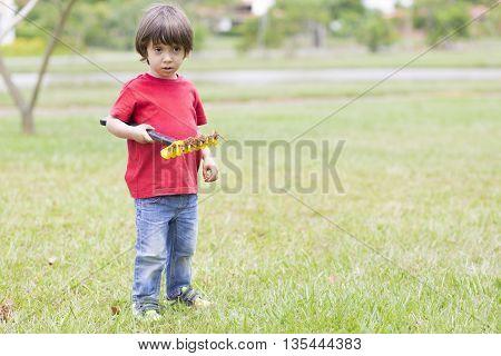 Lovely Boy Planting