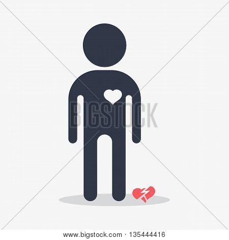 Man With Broken Heart