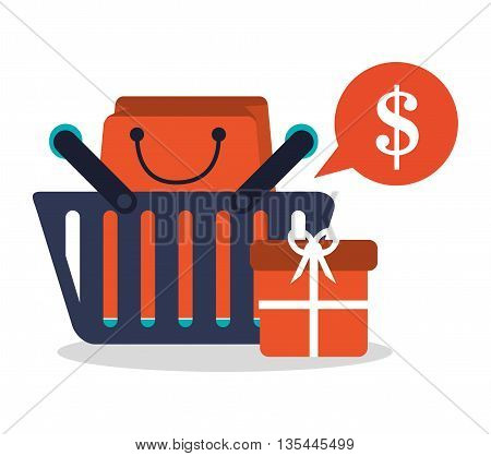 Payment  concept and ecommerce icons design, vector illustration 10 eps graphic.