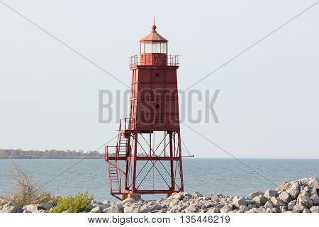 Racine Breakwater Lighthouse in Wisconsin still serving a purpose