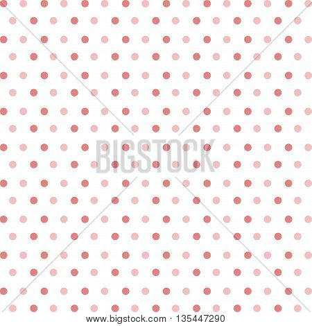 background of red dots isolated icon design, vector illustration  graphic