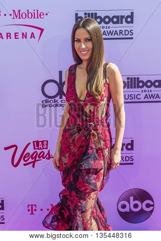 LAS VEGAS - MAY 22 : Radio personality Kerri Kasem attends the 2016 Billboard Music Awards at T-Mobile Arena on May 22 2016 in Las Vegas Nevada.