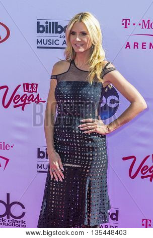 LAS VEGAS - MAY 22 : TV personality Heidi Klum attends the 2016 Billboard Music Awards at T-Mobile Arena on May 22 2016 in Las Vegas Nevada.