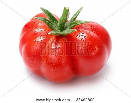 Ripe Heirloom Tomatoes On Vine, Togorific Variety