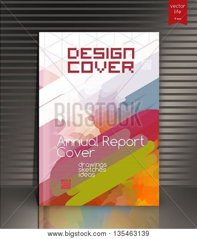 Creative cover. Annual report cover for the company's environmental, energy, and environmental organizations.