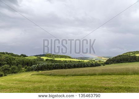 Rural Panorama Landscape