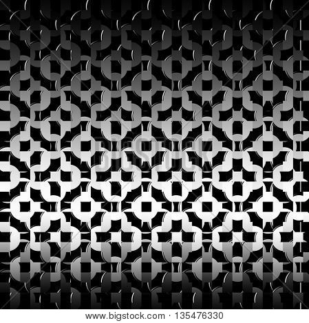 abstract background of black mesh metal glitter