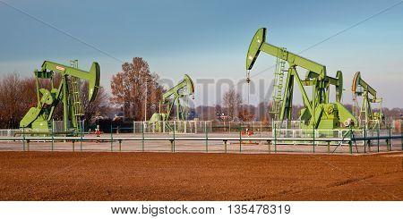 Oil Pump Jack Station