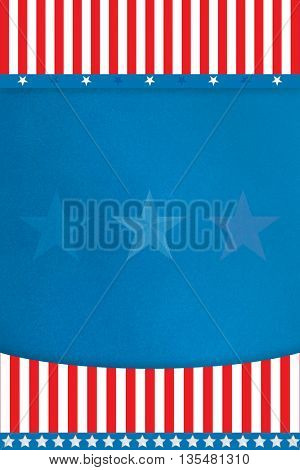 Flag design with copy space