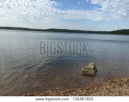 Beaver Lake near Rogers Arkansas, in Northwest Arkansas.